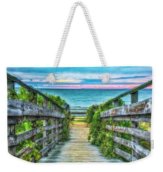 Down To The Beach Weekender Tote Bag