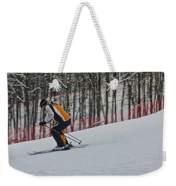 Downhill Weekender Tote Bag