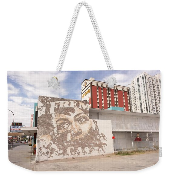 Downtown After Weekender Tote Bag