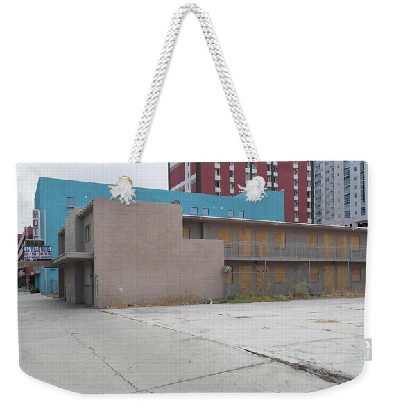 Downtown Before Weekender Tote Bag