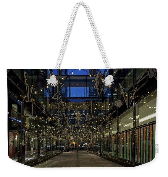 Downtown Christmas Decorations - Washington Weekender Tote Bag