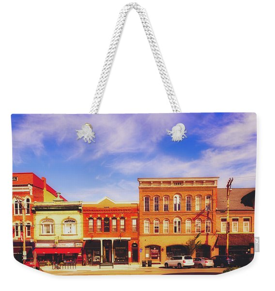 Downtown Exeter, New Hampshire Weekender Tote Bag
