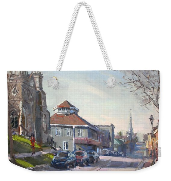 Downtown Georgetown On Weekender Tote Bag