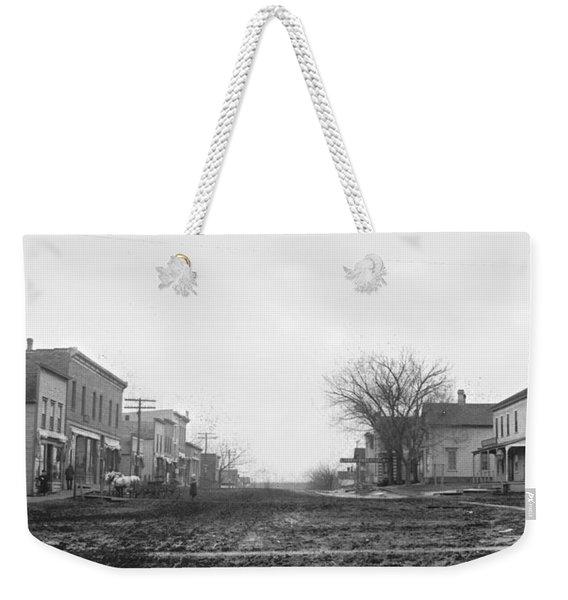 Downtown Hudson Iowa Weekender Tote Bag