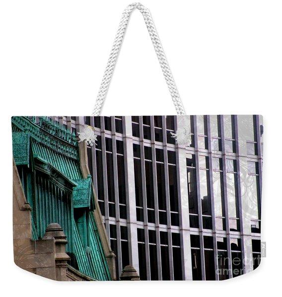 Downtown Indy Weekender Tote Bag