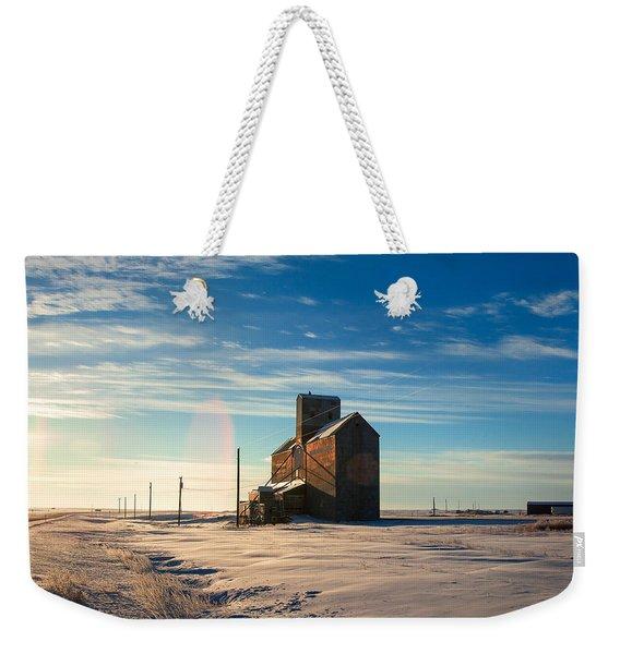 Downtown Lothair Weekender Tote Bag