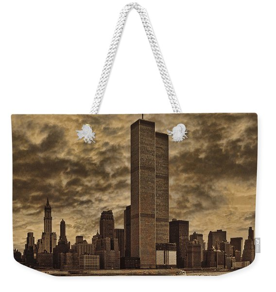 Downtown Manhattan Circa Nineteen Seventy Nine  Weekender Tote Bag