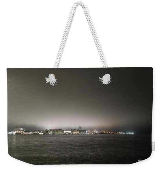Downtown Oc Skyline Weekender Tote Bag