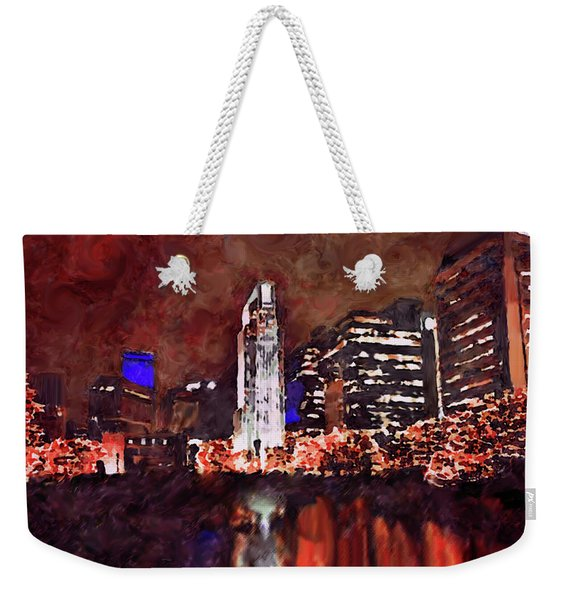 Downtown Omaha Weekender Tote Bag
