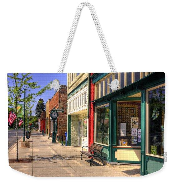 Downtown Palouse Washington Weekender Tote Bag