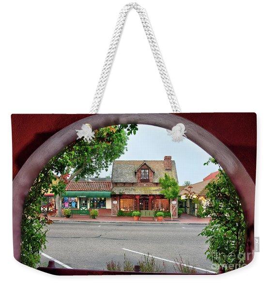 Downtown Solvang Weekender Tote Bag