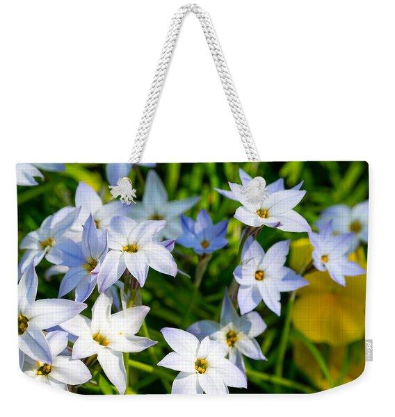 Downtown Wildflowers Weekender Tote Bag