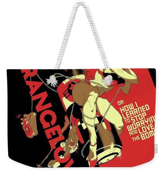 Dr. Strangelove Theatrical Poster Number One 1964 Weekender Tote Bag