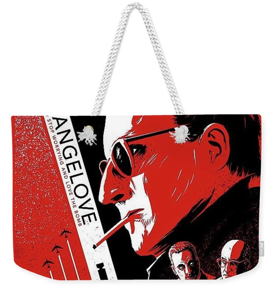 Dr. Strangelove Theatrical Poster Number Three 1964 Weekender Tote Bag