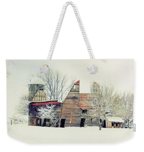 Drafty Old Barn Weekender Tote Bag
