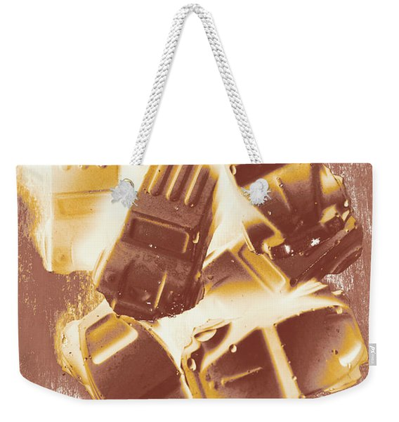 Drag Racing Mob Weekender Tote Bag