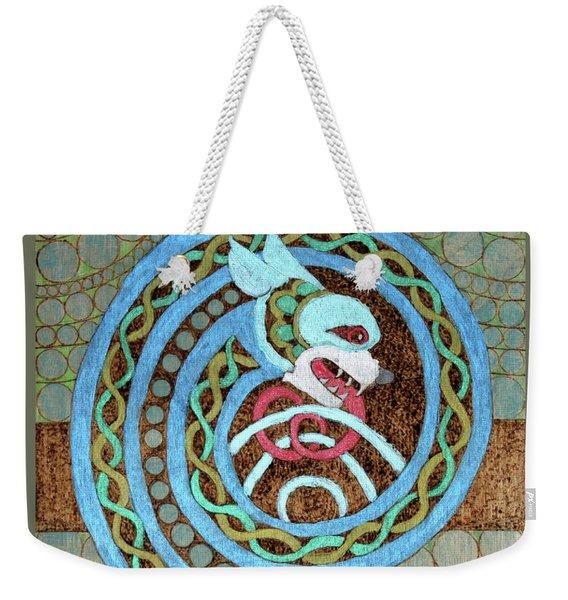 Dragon And The Circles Weekender Tote Bag