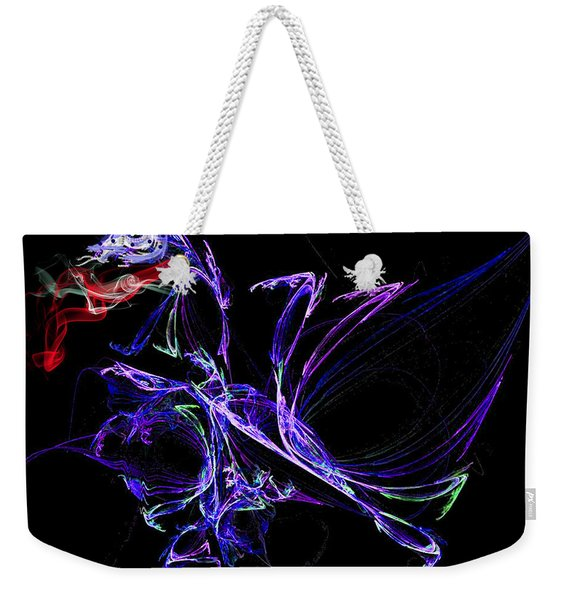 Dragon Dance Weekender Tote Bag