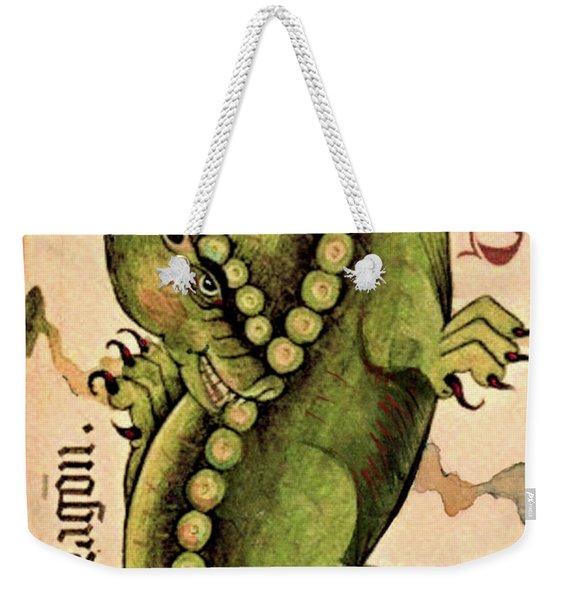 Dragon Dragon Weekender Tote Bag