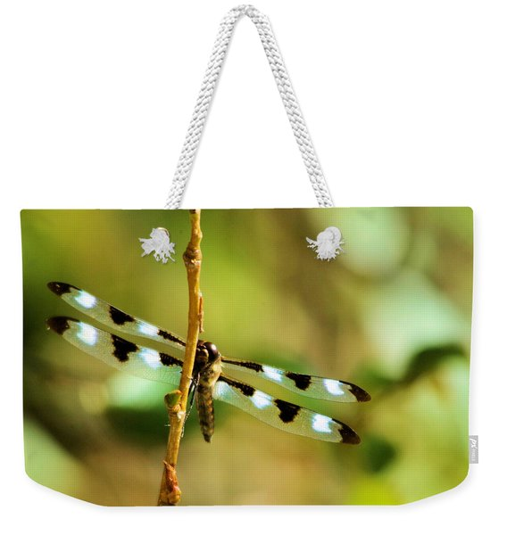 Dragon Fly On A Summer Morning Weekender Tote Bag