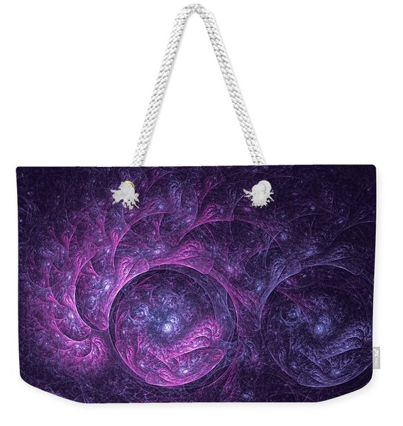 Dragon Nebula Reloaded Weekender Tote Bag