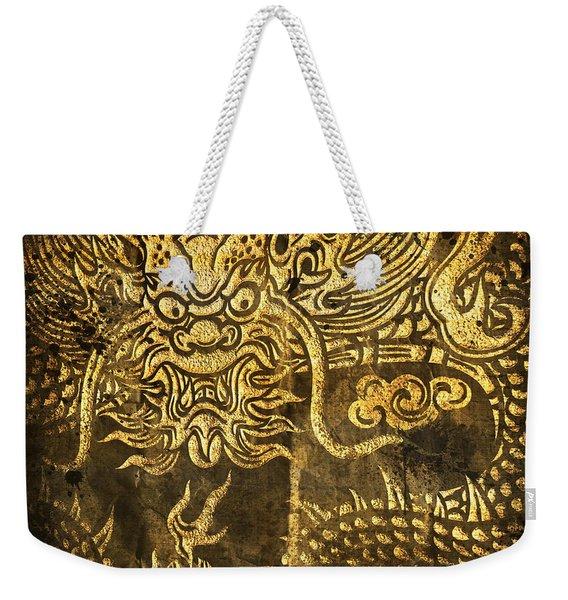 Dragon Pattern Weekender Tote Bag