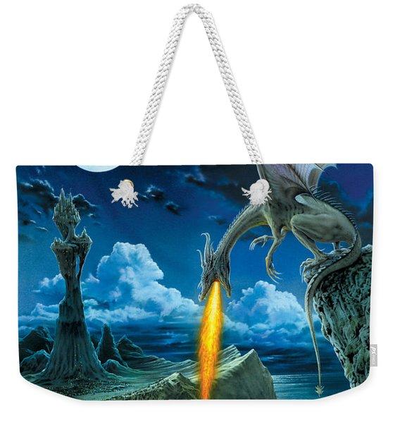 Dragon Spit Weekender Tote Bag