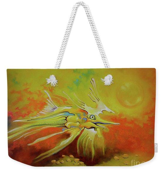 Dragonfish Weekender Tote Bag