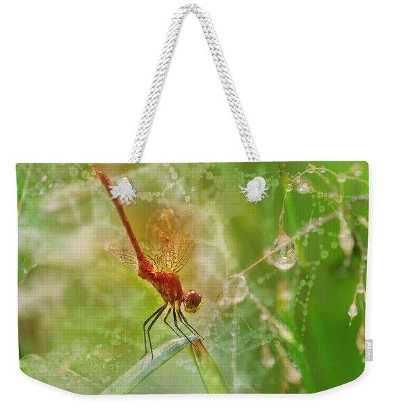 Dragonfly Dance Weekender Tote Bag
