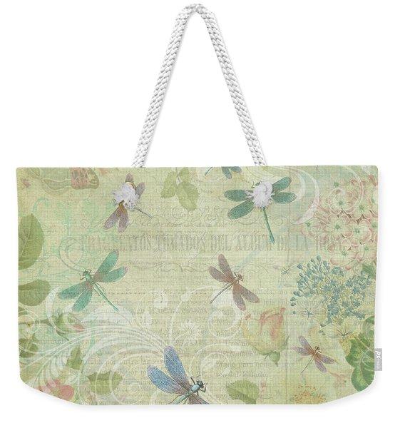 Dragonfly Dream Weekender Tote Bag