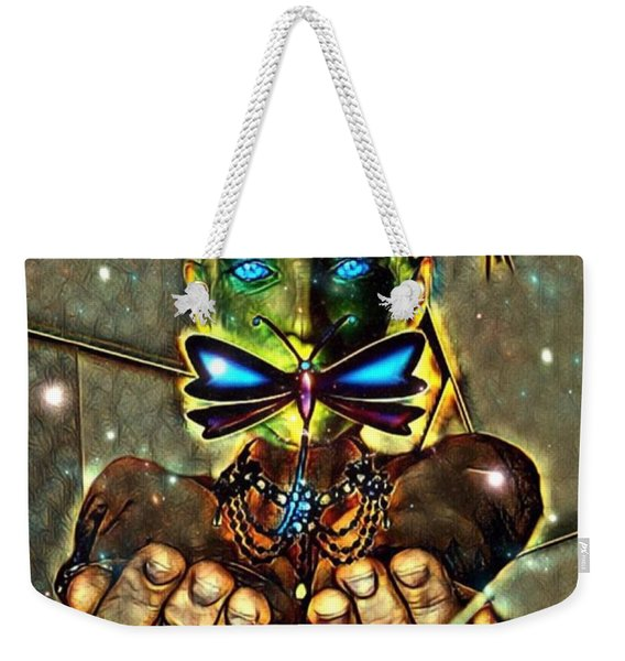 Dragonfly Empath Weekender Tote Bag