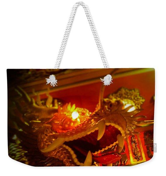 Dragon's Eye Weekender Tote Bag