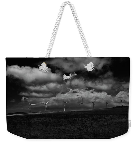 Drama In Black And White Weekender Tote Bag