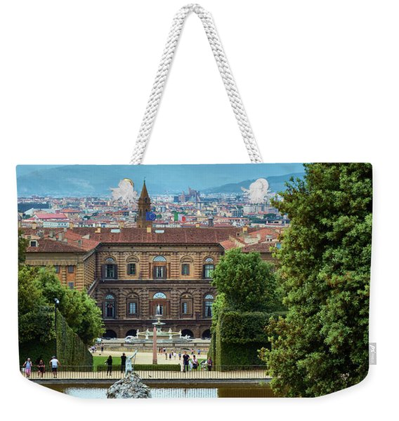 Drama In The Palace Of Firenze Weekender Tote Bag