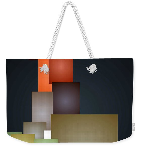 Dramatic Abstract Weekender Tote Bag