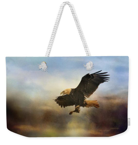 Dramatic Entrance Weekender Tote Bag