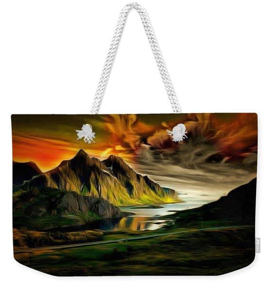 Dramatic Skies Weekender Tote Bag