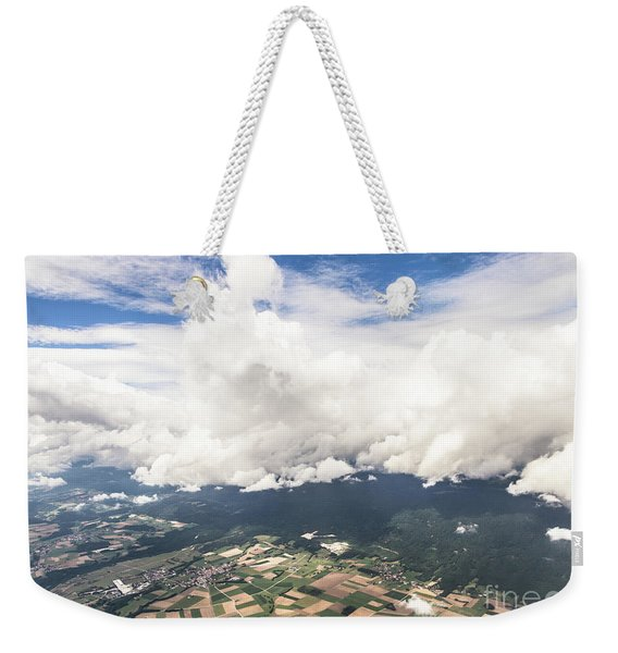 Dramatic Swiss Sky Weekender Tote Bag