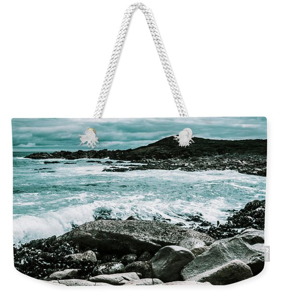 Dramatic Western Tasmania Beach Weekender Tote Bag