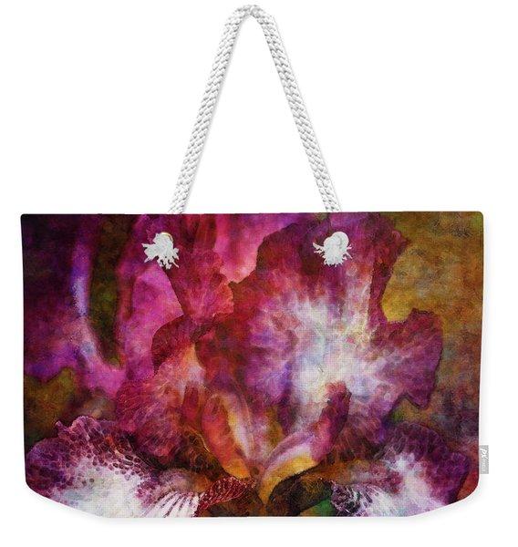 Dramatic White And Purple 0273 Idp_2 Weekender Tote Bag