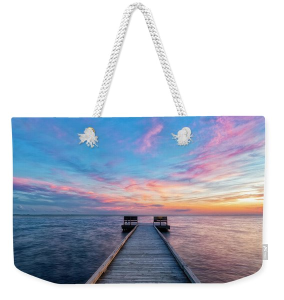Drawn To Beauty Weekender Tote Bag