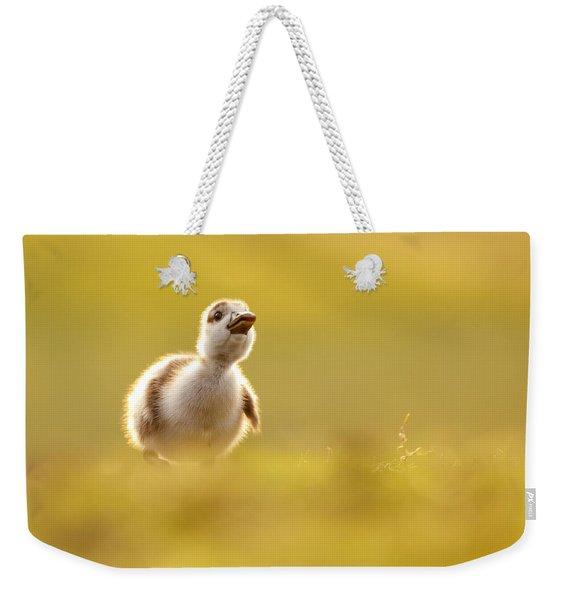 Dream Duckie _egyptian Gosling Weekender Tote Bag