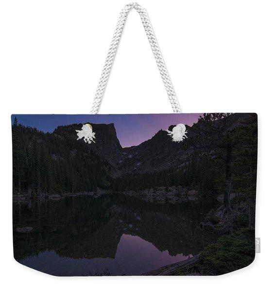 Dream Lake Reflections Weekender Tote Bag