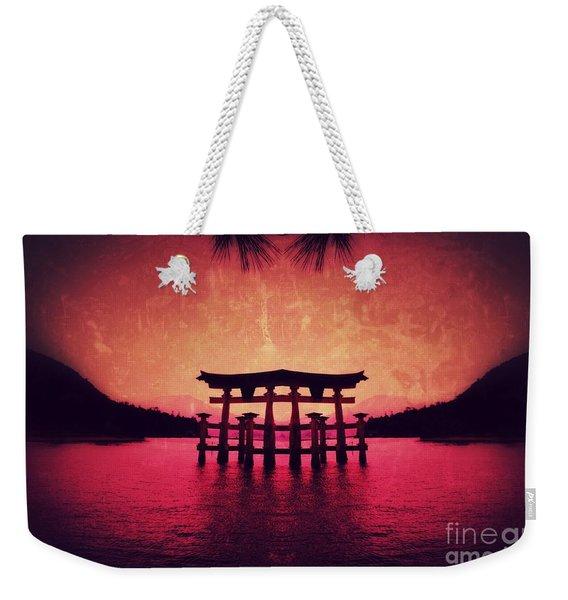 Dream Of Japan Weekender Tote Bag
