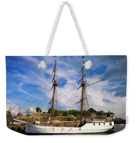 Dream On The Fjord Weekender Tote Bag