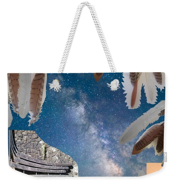 Dreaming Bench Weekender Tote Bag