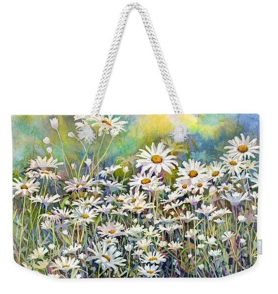 Dreaming Daisies Weekender Tote Bag