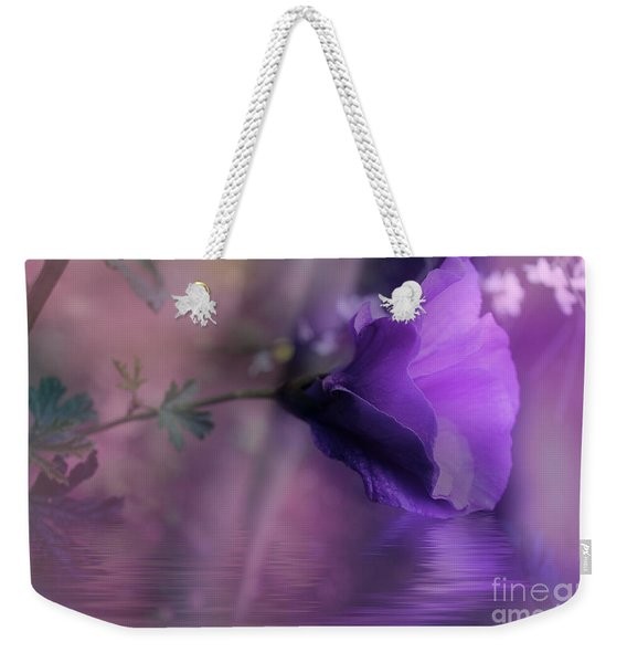 Dreaming In Purple Weekender Tote Bag