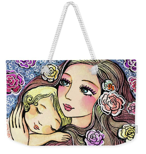 Dreaming In Roses Weekender Tote Bag