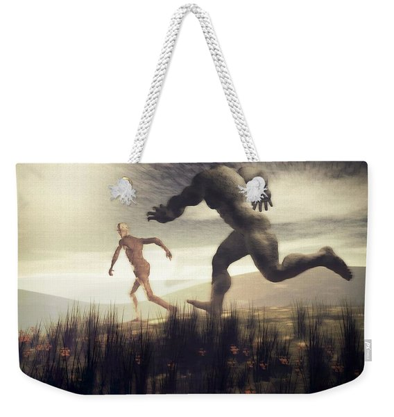 Dreaming Of A Nameless Fear Weekender Tote Bag
